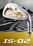 HONMA GOLF JAPAN BERES IS-02 IRON SET #5,6,7,8,9,10 (6 clubs) 3-STARS ARMRQ6 49 SHAFT REGULAR