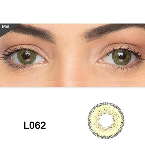 ute Contact Lenses Color Blends Cosplay Eyes Cosmetic Makeup Eye Shadow (A Pair) ()