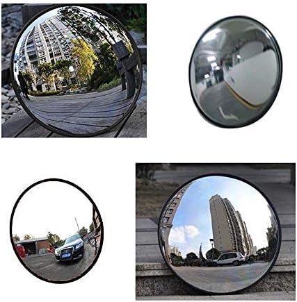 カーブミラー ワイドアングルセキュリティ屋外凸面鏡屋外道路交通安全ドライブウェイ取付金具 RGJ12-7 (Size : 60cm)
