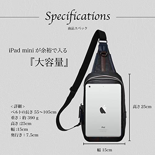 4518552d1ec7 RONDE 斜めがけ ボディバッグ ワンショルダー メンズ|日本商品の海外 ...