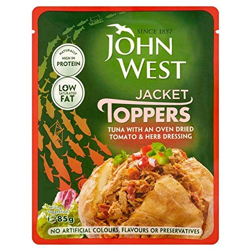 (John West Tomato & Herb Tuna Pouch 85g)
