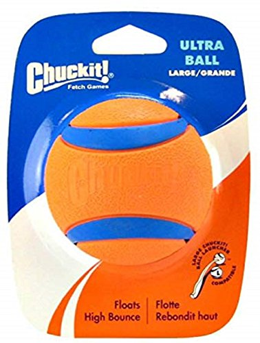 Canine Hardware Chuckit! Ultra Ball, Large, 3-Inch, 2-Pack by Chuck It (Image #1)