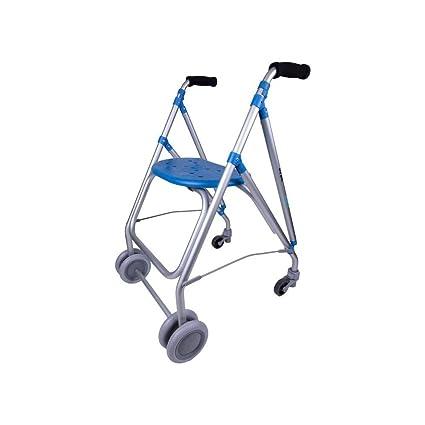 Andador Ruedas Aluminio Ara Plus c/tabla+ Rueda-Unidad