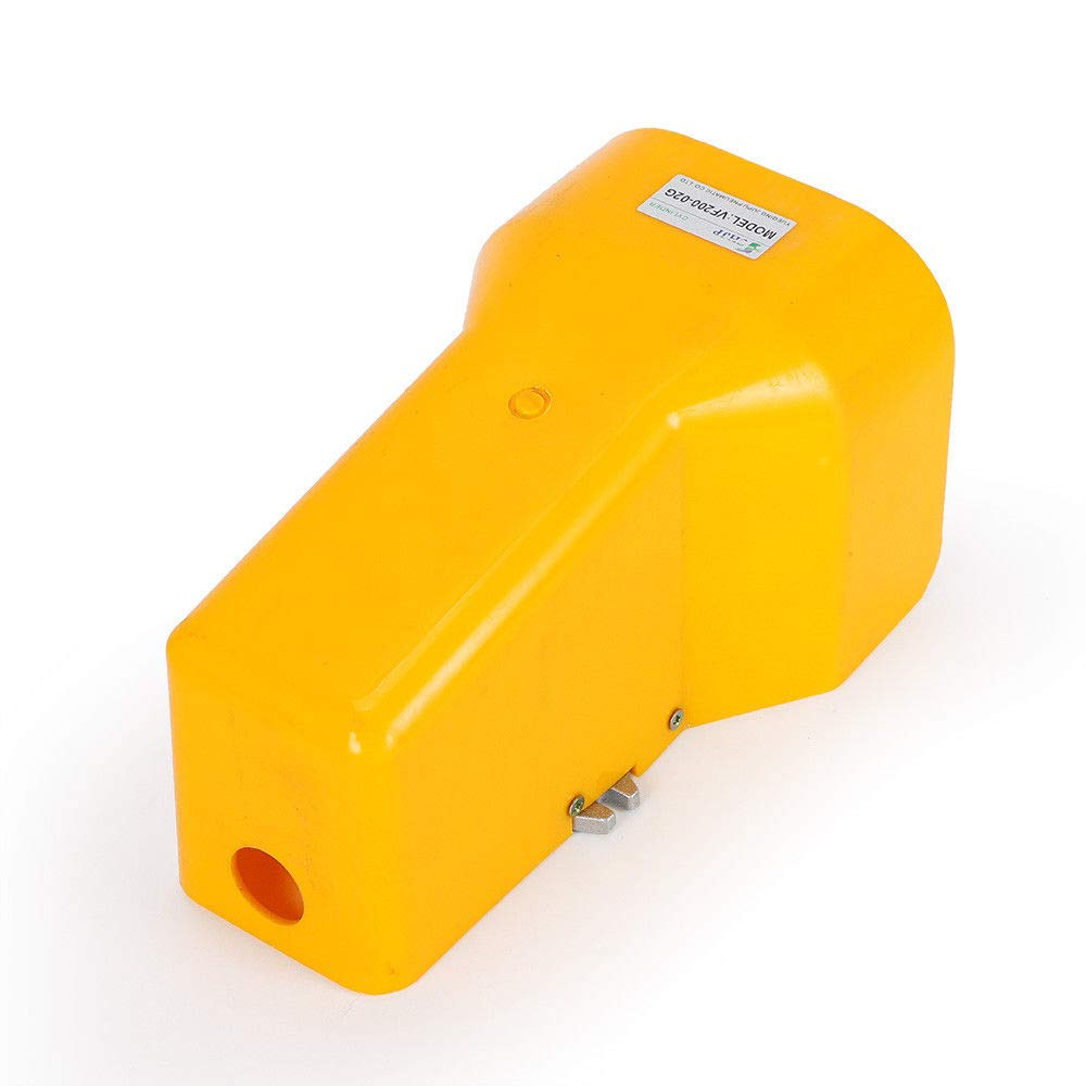 Foot Pedal Valve,5 Way 2 Position Pneumatic Foot Pedal Valve 1//4 NPTF Four Channels USA Stock