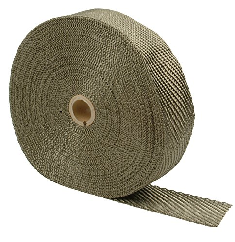 "DEI 010130 Titanium Exhaust Heat Wrap with LR Technology, 2"" x 100"