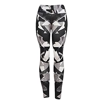 Rawdah* Pantalones de Yoga Hip-Hop Pantalones de Deporte ...