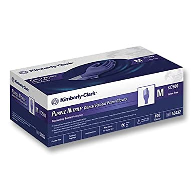 Safeskin KC500 Purple Nitrile PF Exam Glove - XL (90)