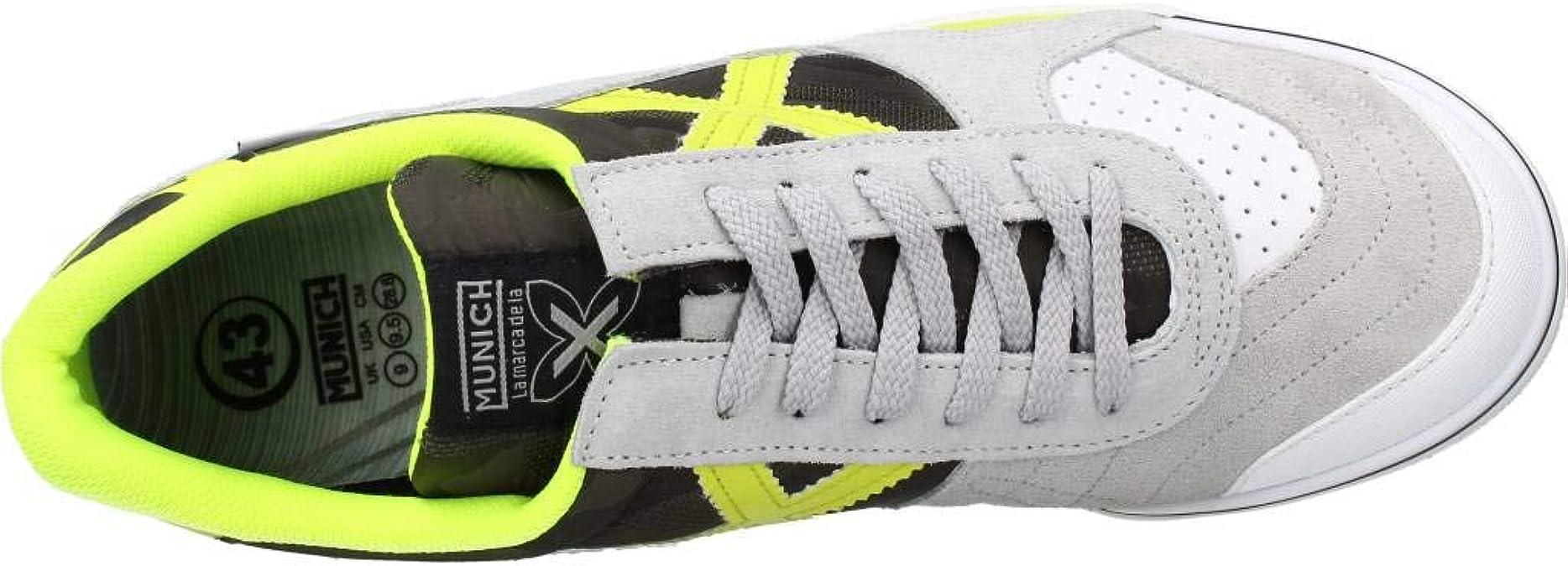 Zapatillas Sala Hombre Munich Gresca 281: Amazon.es: Zapatos y complementos