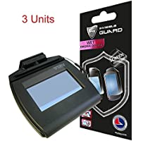 For Topaz signature pads Screen Protector 750 series T-LBK750 / TLBK750BHSB / TM-LBK750-HSB-R / T-LBK750SE-BHSB-R / T-LBK750-BHSB-R / T-LBK750SE-WFB1-R / T-LBK750-BHSB-SE-R / TM-LBK750 3 UNITS IPG