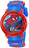 Marvel Boys' Quartz Watch with Plastic Strap, Blue, 20 (Model: SPD4464): more info