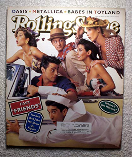 (Rachel, Joey, Chandler, Monica, Phoebe & Ross - The Cast of the TV Show Friends - Rolling Stone Magazine - #708 - May 18, 1995)