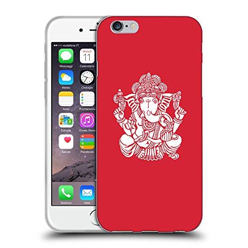 GoGoMobile Coque de Protection TPU Silicone Case pour // Q09580601 Hindou 12 Alizarine // Apple iPhone 7