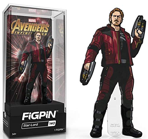 Pin All Star Game (FiGPiN Avengers Infinity War: Star-Lord - Not Machine Specific)