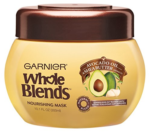 LOT IF 2 GARNIER WHOLE BLENDS NOURISHING MASK 10.1oz JARS