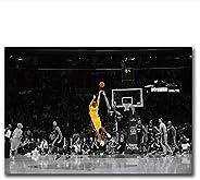 nr Kobe Bryant Cartel Baloncesto Moderno Simple Sala de Estar Decoración Pintura Jugador de Baloncesto Hotel Apartamento Lie