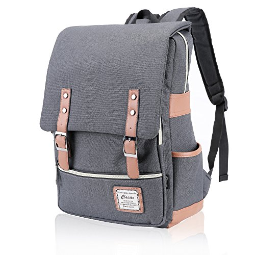 p Backpack,Large Capacity and Durable-School Travel Working Hiking backpack(Grey) (Gray Womens Backpack)