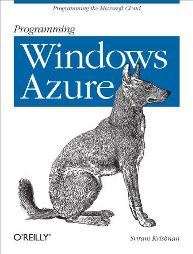 Programming Windows Azure Pdf