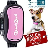 No Bark Collar For Small To Medium Dogs by GoodBoy â Waterproof Anti Bark Training Collar - Best Selling On Amazon â Safe, No Shock Design With No Spiky Prongs â Updated LCD Display ( 7+ lbs )