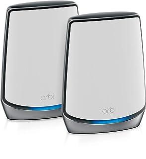 Orbi WiFi 6 メッシュ ルーター 【iPhone 11/11 Pro Max対応】AX6000 トライバンド WiFiシステム 2台セット RBK852-100JPS