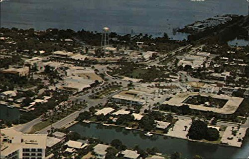 St. Armonds Circle Shopping Area Sarasota, Florida Original Vintage - Florida Shopping Sarasota