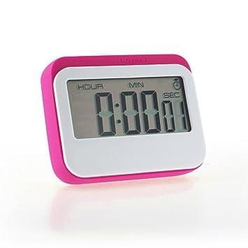 smileq temporizador reloj temporizador de cocina digital cuenta atrás hasta Loud gran pantalla LCD Digital de