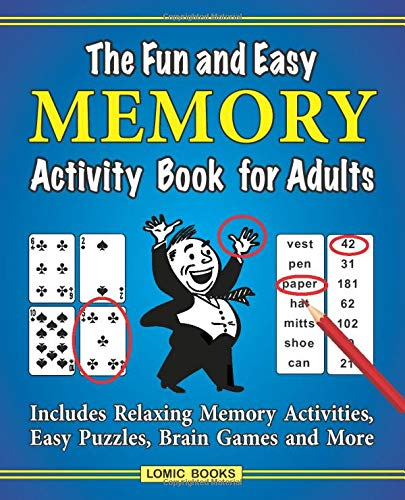 Easy Memory Activity Book Adults product image