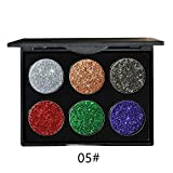 RedBrowm Shimmer Glitter Eye Shadow Powder Palette Matte Eyeshadow Cosmetic Makeup B
