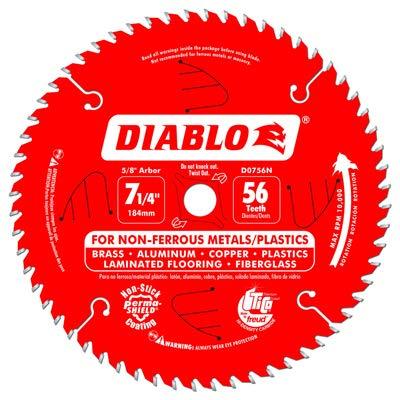 Disco Sierra FREUD D0756NA Aluminio 7 1/4 In. x 56T Cantid
