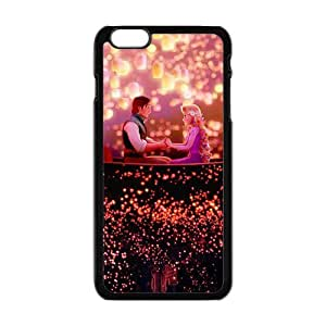 Happy Frozen shiny scenery romantic couple Cell Phone Case for Iphone 6 Plus