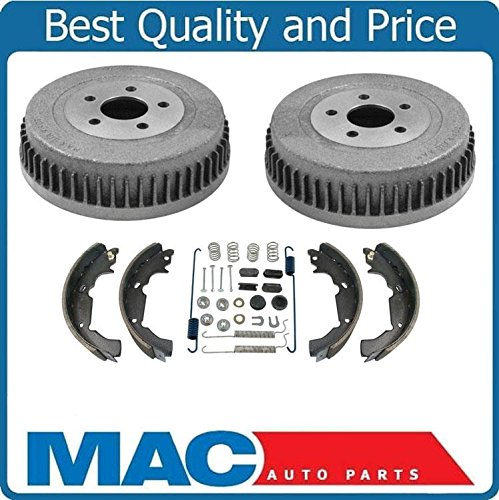 Mac Auto Parts 1995-2003 Fits for Ford Windstar New Rear Brake Drum Drums & Shoes & Brake Spring Kit ()