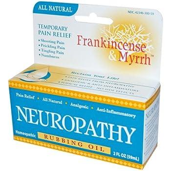 Amazon Com Frankincense And Myrrh Neuropathy Rubbing Oil