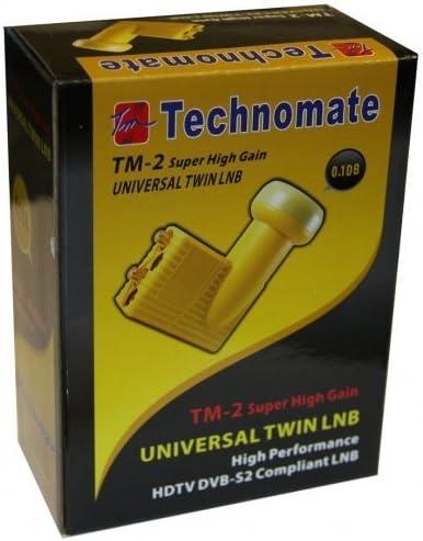 Technomate TM 0,1 dB 4 Universal Quad LNB Super High Gain