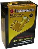 Technomate TM-2 0.1 dB Universal Twin Super High Gain LNB