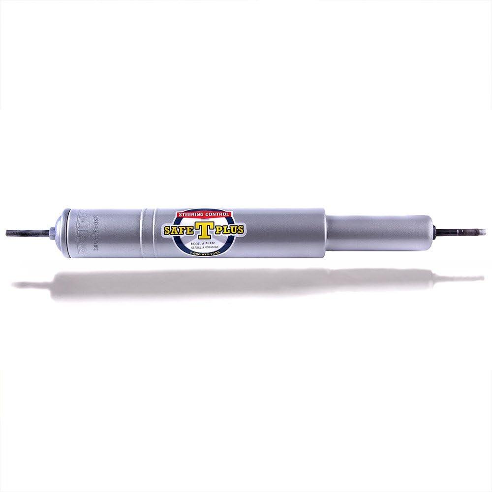 Safe-T-Plus RV Steering Stabilizer 31-140 Silver (RV Steering Stabilizer, RV Steering Control, RV Safety, Truck Steering Stabilizer)