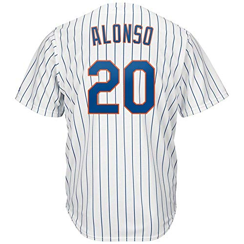 - Men's/Women/Youth_Pete_#20_Alonso Youth Cool Base Alternate Replica Baseball Jersey-White