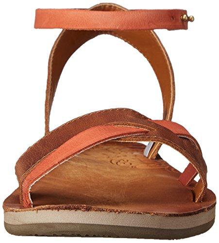 Cushe Womens Fresh Twist Dress Sandal Tan/Papaya