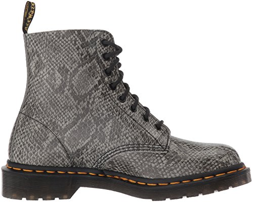 Dr Grey Adults vaaleanharmaa Boots Grey Martens Viper Kyykäärme Short Pascal Martens pascal Unisex Lyhyt Saappaat Harmaa Aikuiset Unisex light Dr rCqfvr