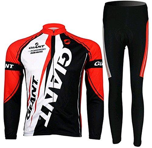 肥沃なスコア等しいサイクルジャージ 長袖 上下セット 自転車ウエア ウェアセット メンズ 速乾吸汗 通気がいい S/M/L/XL/2XL/3XL