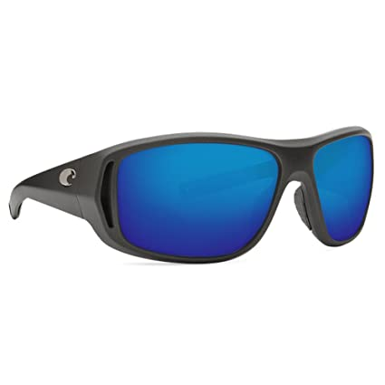584e7f5ea5 Image Unavailable. Image not available for. Color  Costa Del Mar Montauk  Sunglass Steel Gray Metallic Blue Mirror 580Glass