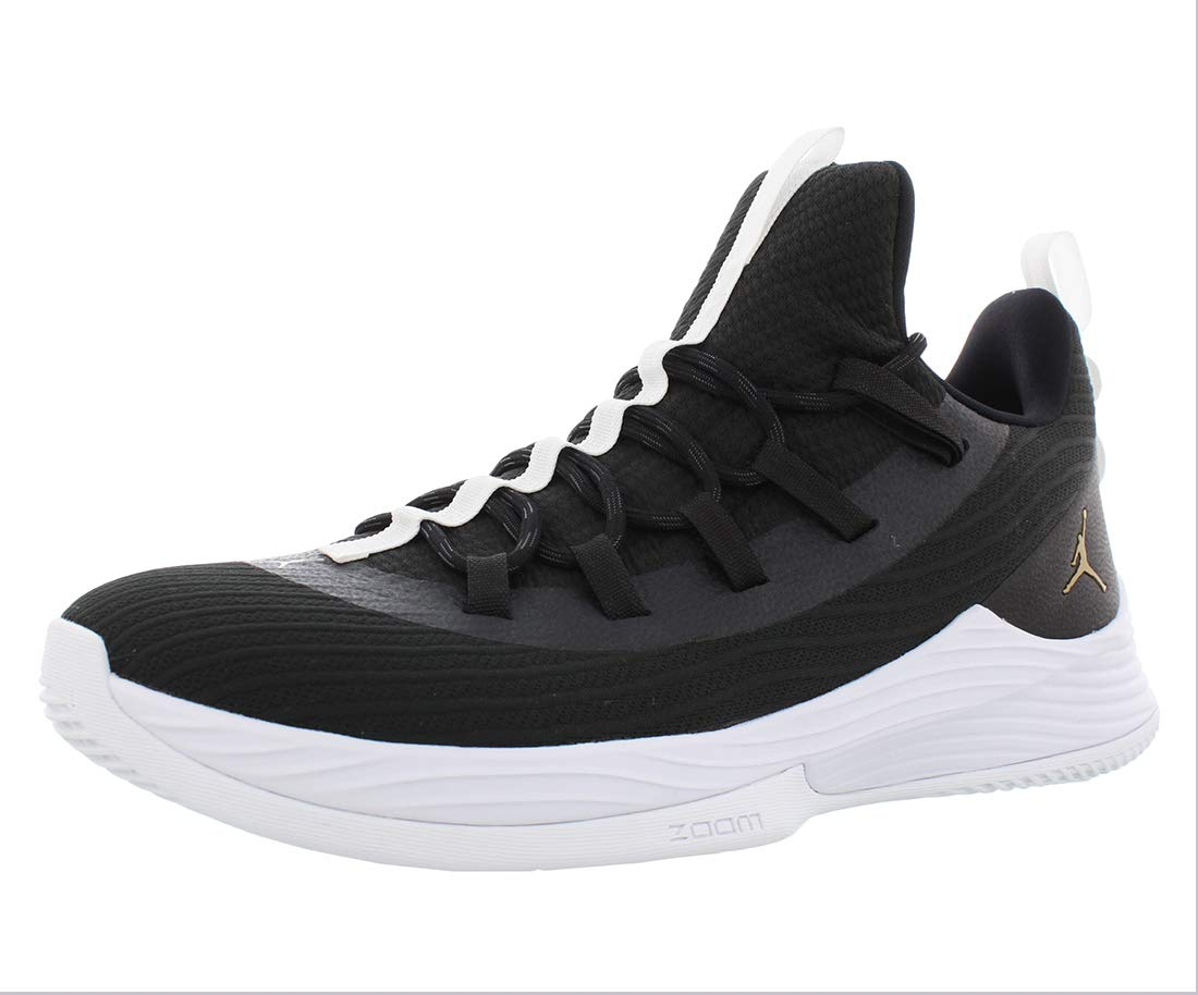 hot sale online e936c 94cec Jordan Nike Men's Ultra Fly 2 Low Basketball Shoe 9 Black