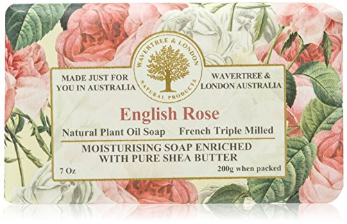 (Wavertree & London English Rose luxury soap 7 Oz )