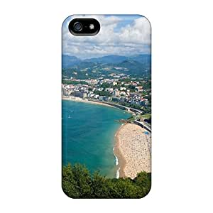 Iphone 5/5s Cases Covers - Slim Fit Protector Shock Absorbent Cases (san Sebastian Spain)