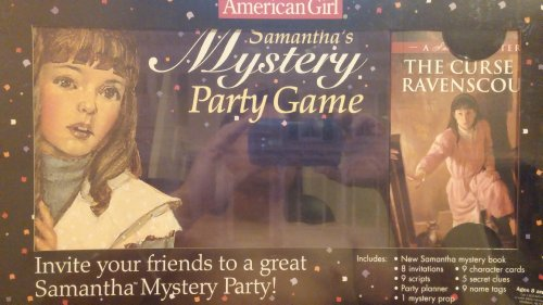 American Girl Card Games - Samantha mystery party game