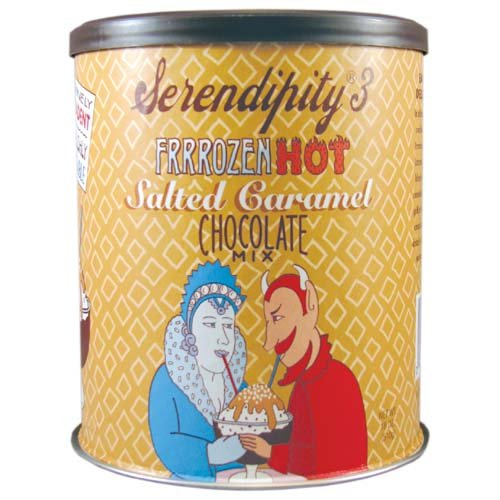 (Serendipity 3 Frrrozen Hot Salt Caramel Choc Mix 18 oz. Can)
