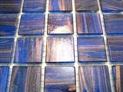 Full Sheet 225 Golden Deep Blue Gold Dust Tiles