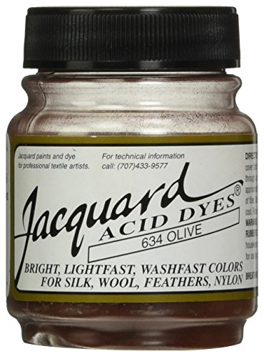 Acid Dyes (Jacquard Acid Dyes 1/2 Ounce-Olive)