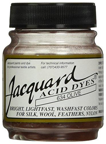 Jacquard Acid Dyes .5oz, Olive