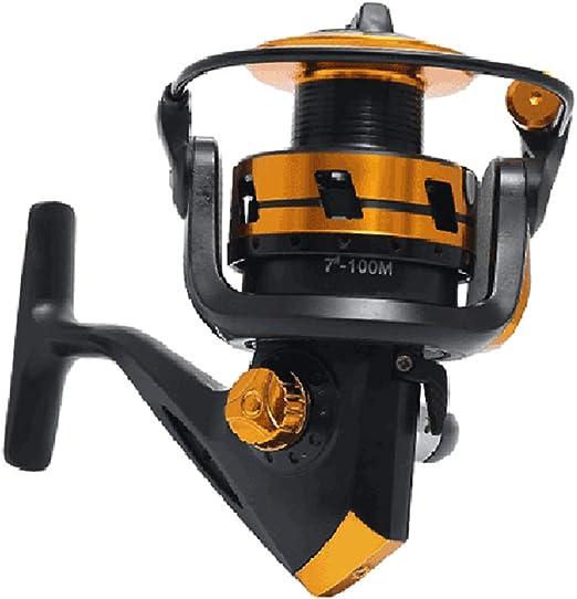 Carrete de Pesca 5.2:1 10BB 3000-6000 Serie Carpa Spinning Rueda Tipo mar Rock señuelo Carretes Pesca Pesca,6000models: Amazon.es: Hogar