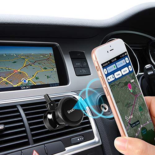 GreatYYT Magnetic Car Phone Mount Universal Air Vent Magnetic Car Mount Phone Holder for Phone 8 X 8Plus 7 7Plus 6 6s Samsung Galaxy S8 S7 S6 Note 8 7 LG Nexus Sony GPS etc