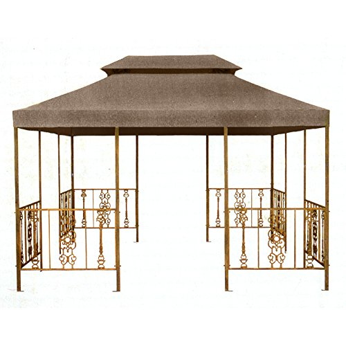 Garden Winds Replacement Canopy Top Cover for Parkland Heritage Victorian Gazebo - SUNBRELLA